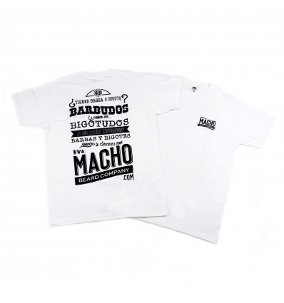 Macho T-shirt - White