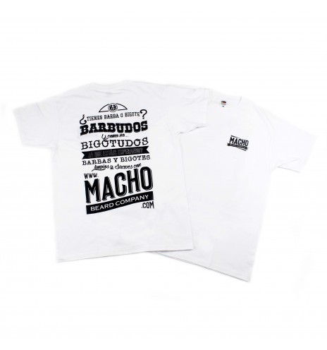 Camiseta Macho - Blanco