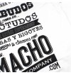 Camiseta Macho - Blanco