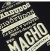 Camiseta Macho - Negro