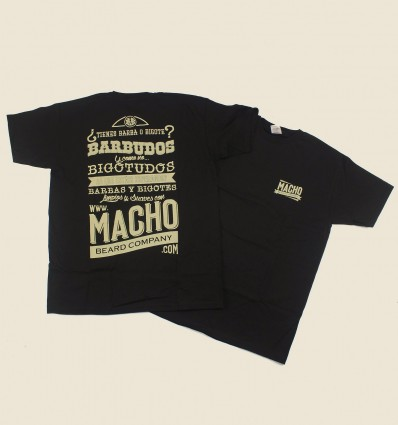 Macho T-shirt - Black
