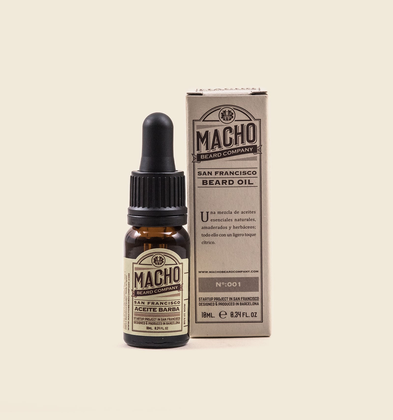 Great SAN FRANCISCO Natural Beard Oil