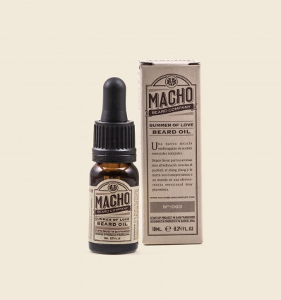Aceite para Barba Natural SUMMER OF LOVE