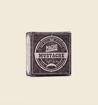 Soft Natural Mustache Wax