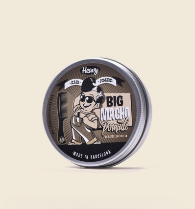 BIG MACHO HAIR POMADE - HEAVY