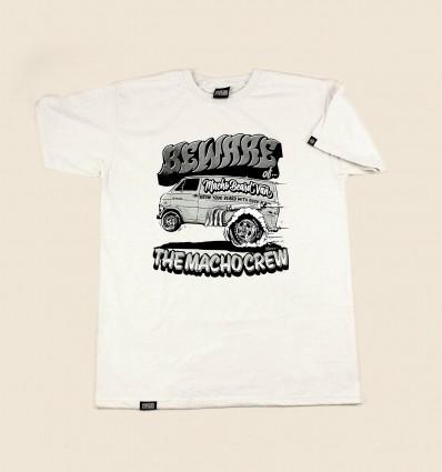 Macho T-shirt - White