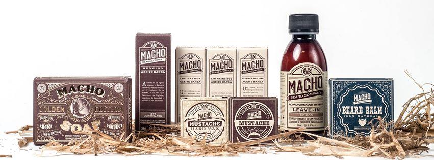 MachoBeardCompany Aceites y ceras para barbas y bigotes de la máxima calidad