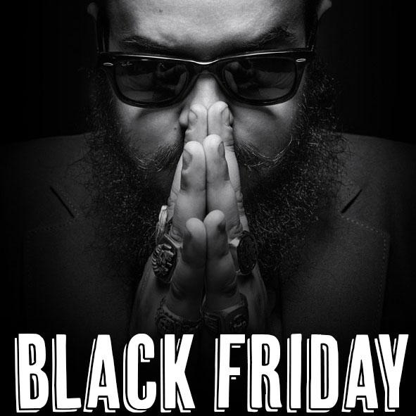 Black Friday Macho Beard Company 2015