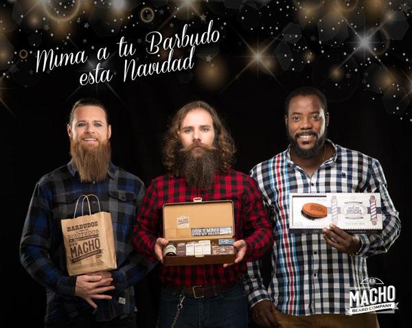 Mima a tu barbudo esta Navidad. Regálale Macho