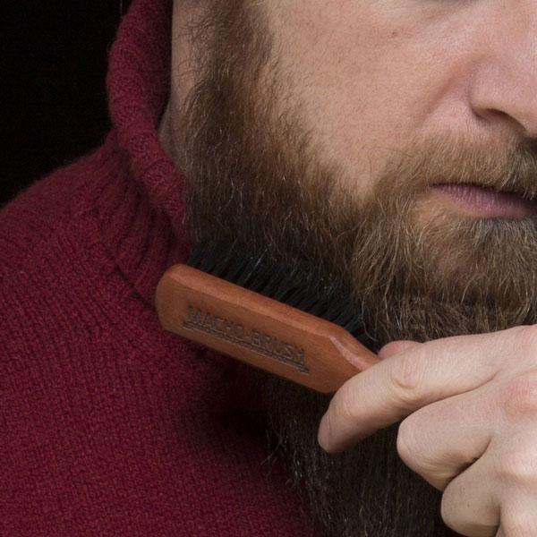 cepillar la barba