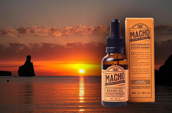 Aceite para barba Mediterranean, cuida tu barba en verano
