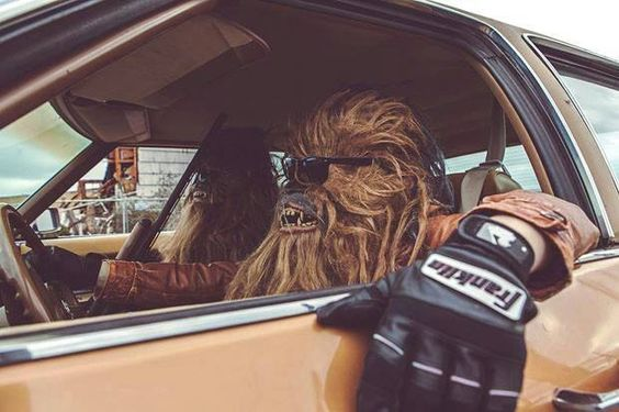 Chewbacca not shaving