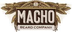 Macho Beard Company Sticky Logo