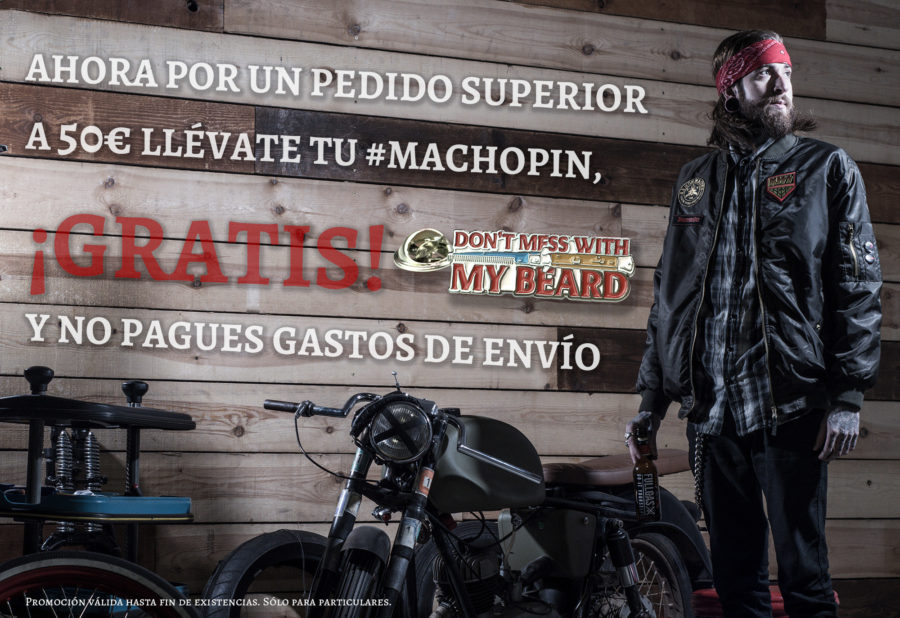 Distribuidor autorizado Macho Beard Company