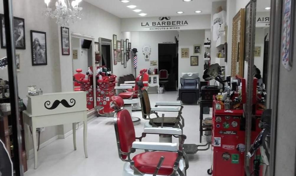 Barbería Haircuts & Wines