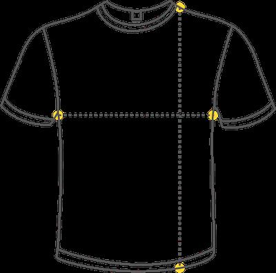Guia tamaño camisetas